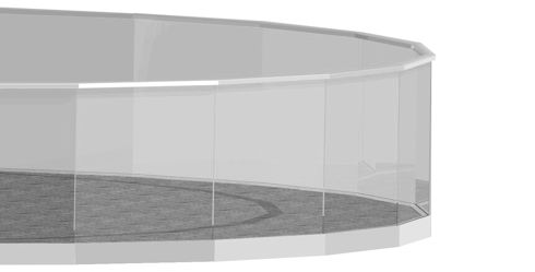 stiklo baliustrados sistemos bristolis)