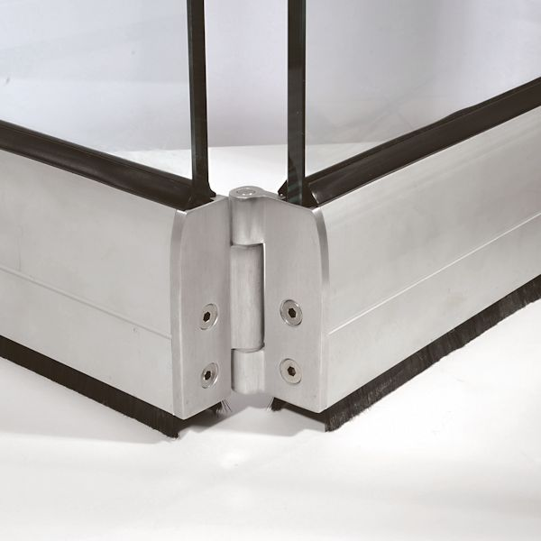 Folding doors fittings system morad for Folding window wall systems
