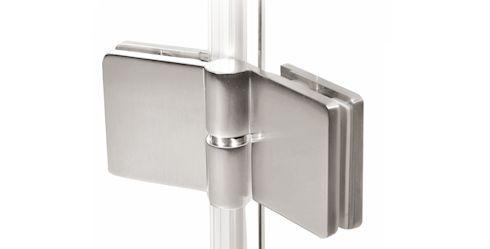 Chłodny Okucia Do Szkła Hartowanego - Aluminiowe I Stalowe | Morad AR07